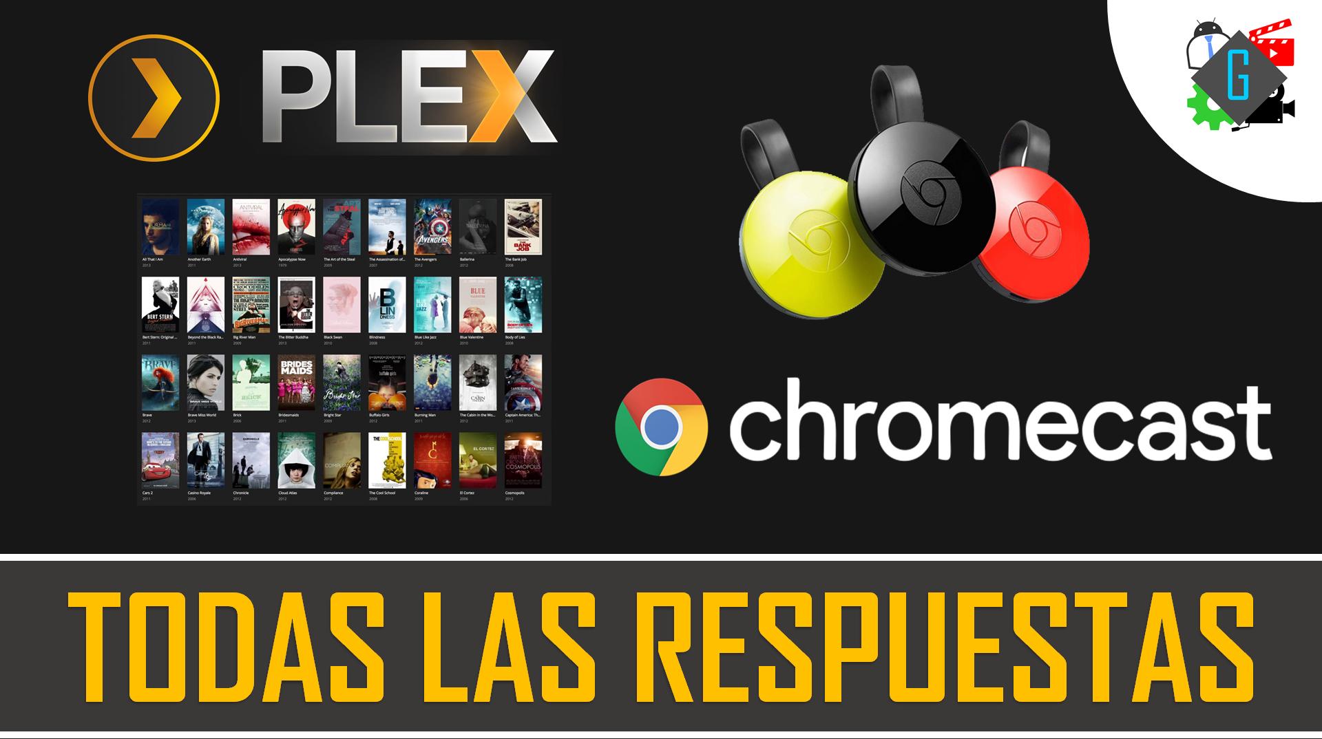 PLEX chromecast