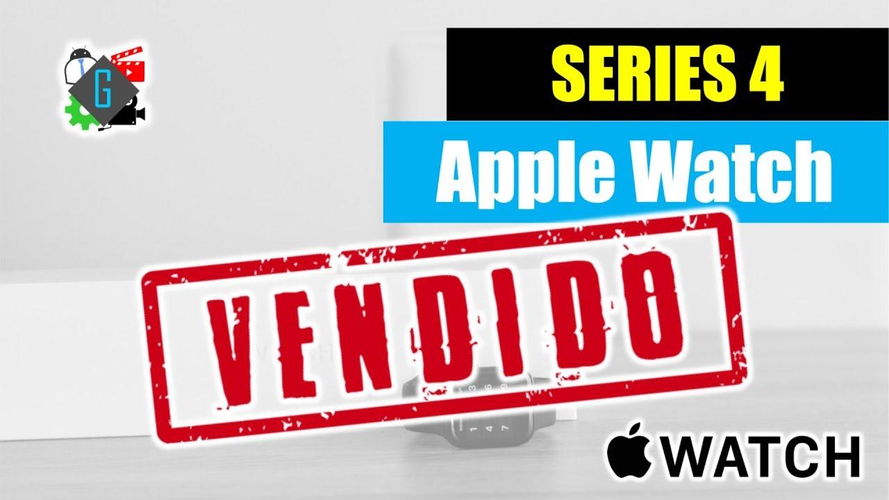 apple watch vendido